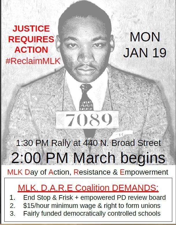 MLK DARE Flyer