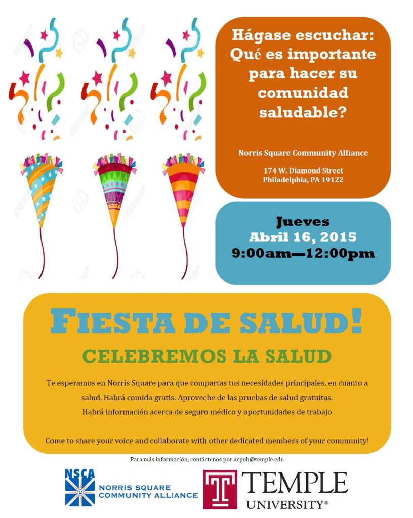 Fiesta de Salud Spanish