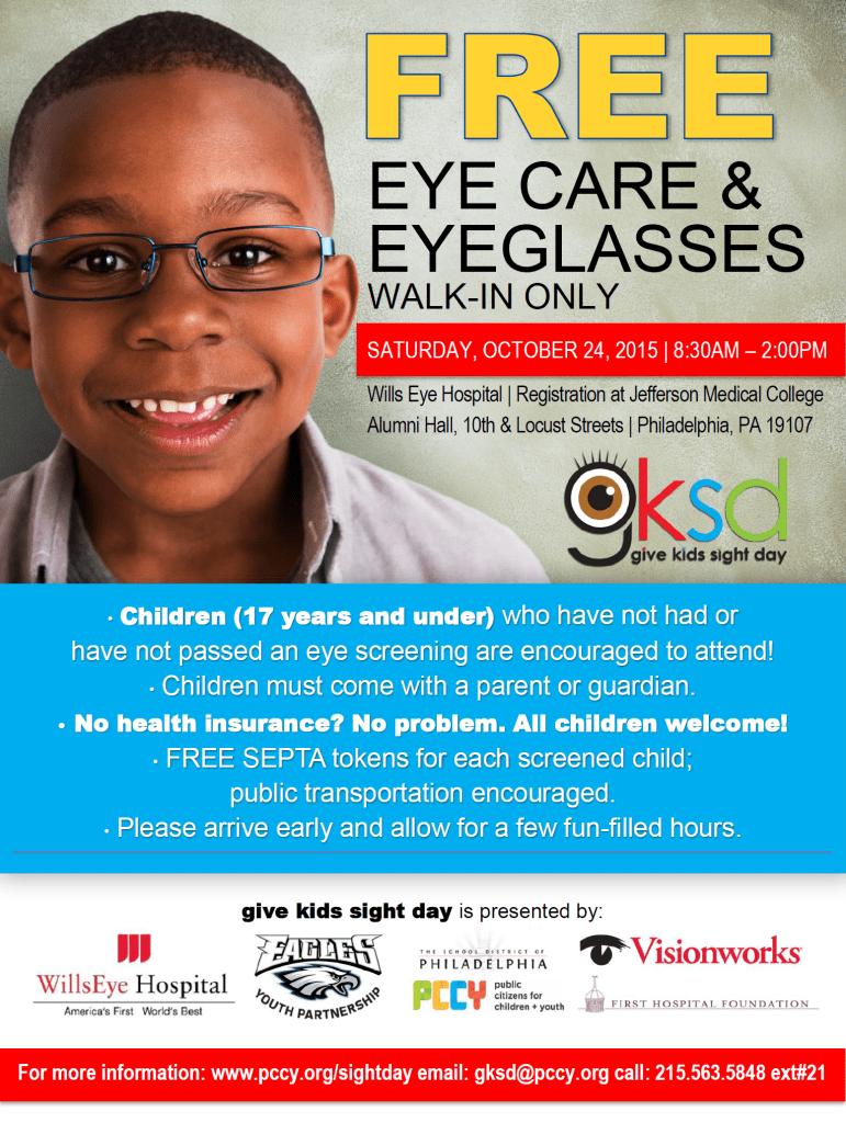 Free Eyecare and Glasses