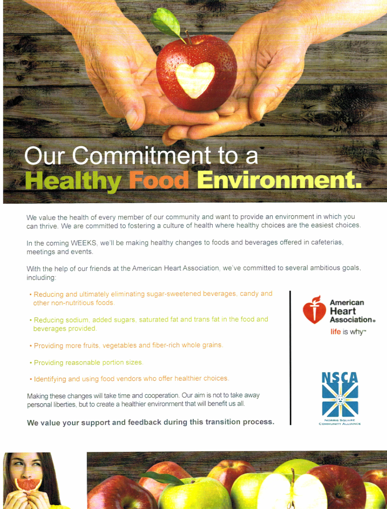 NSCA AHA Healthy Eating Announcement 2015 ENG