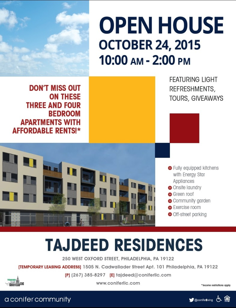 Tajeed Residences Open House