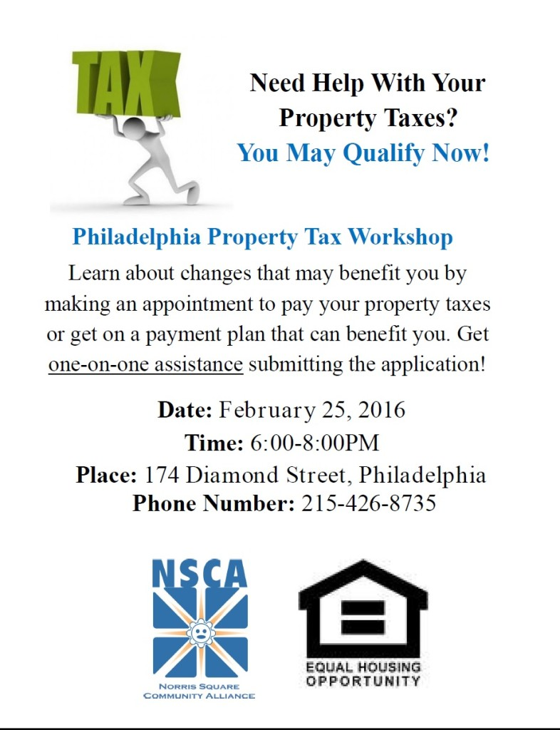 Property Tax Workshop English