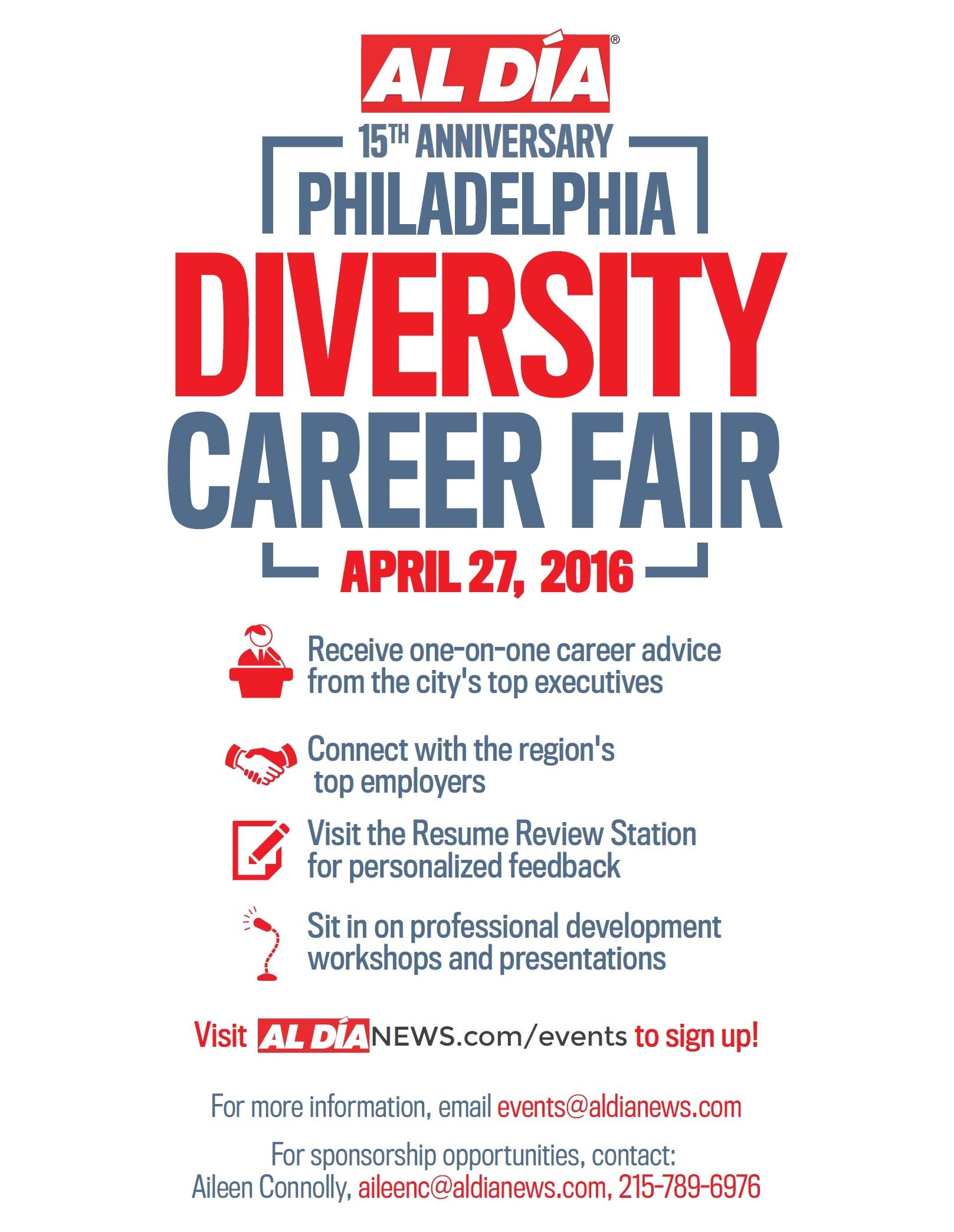 th annual al dia diversity career fair pa convention al dia career fair 2016